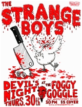 Strange Boys Devil's Night