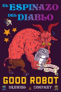 Del Diablo - Commissioned by Good Robot Brewing Co.