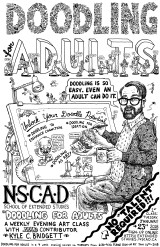 Doodling for Adults NSCAD Extended Studies course poster