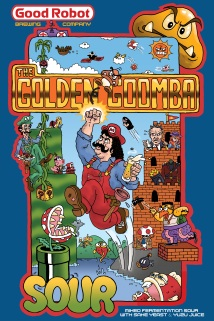 The Golden Goomba - Commissioned by Good Robot Brewing Co.