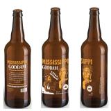 Mississippi Goddam Bottle Design