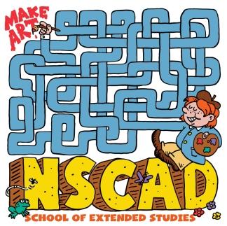 NSCAD Temp Tattoo design